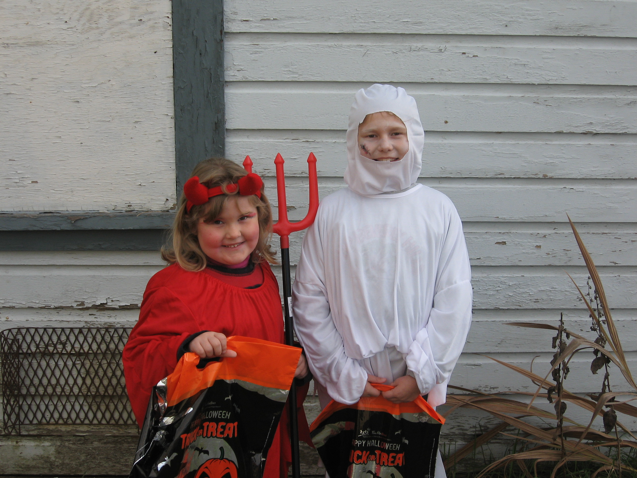 My litte ghost and devil