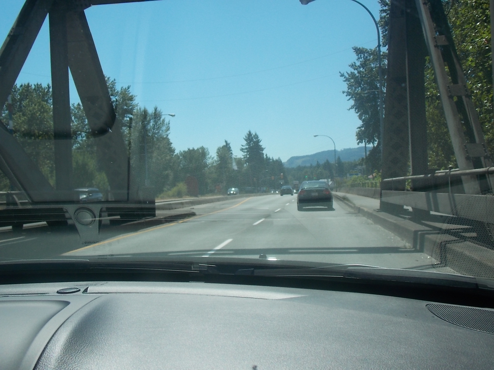 Sunny Trip Over the Malahat
