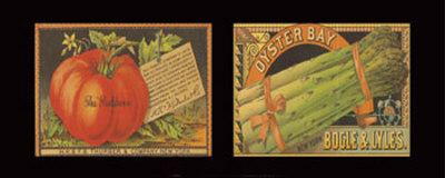 Vegetable Duet Art Print