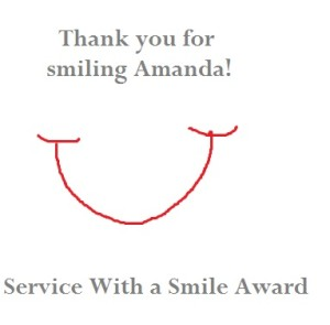 Service with a Smile Award
