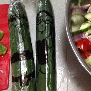 Cucumber People by Breanna