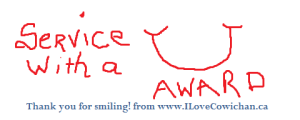 I Love Cowichan Service with a Smile Web Image