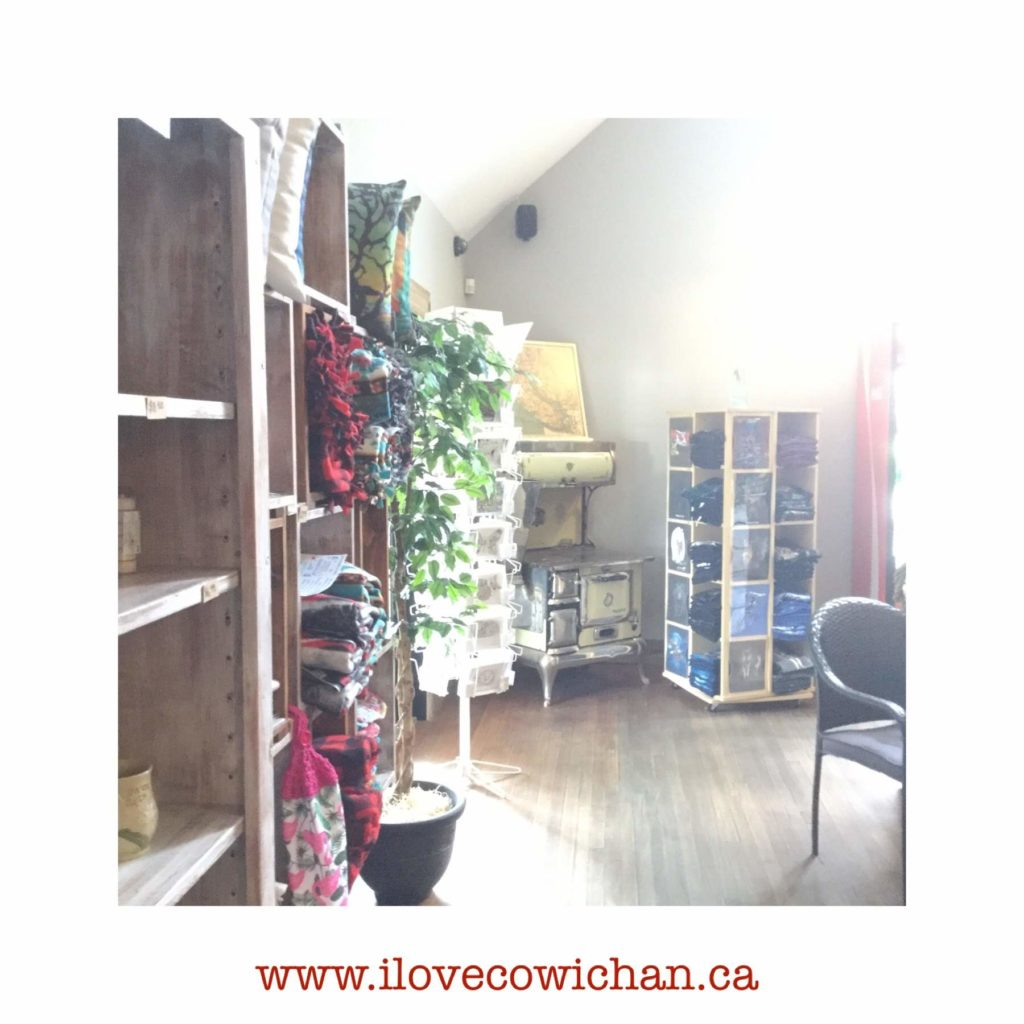 Gift & Coffee Shop at the Old Farm Market on the Trans Canada Highway Duncan BC