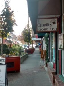 Chari Teas Downtown Duncan BC Buy Local