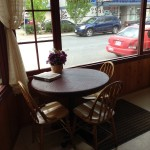 WestFalia Bakery in Duncan BC a Table for Two