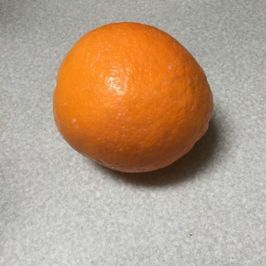 This orange is one reason why I shop locally owned
