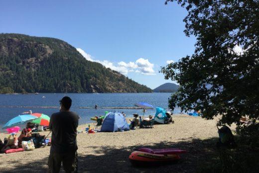 Gordon Bay Beach Cowichan Lake BC