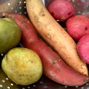 Cowichan Valley Fresh Veggie Soup Recipe Ingredients Potatoes