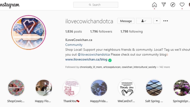 Local Business Social Media I Love Cowichan Blog Post