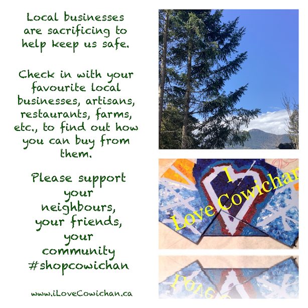 Local Business Social Media I Love Cowichan Blog Post April 2020