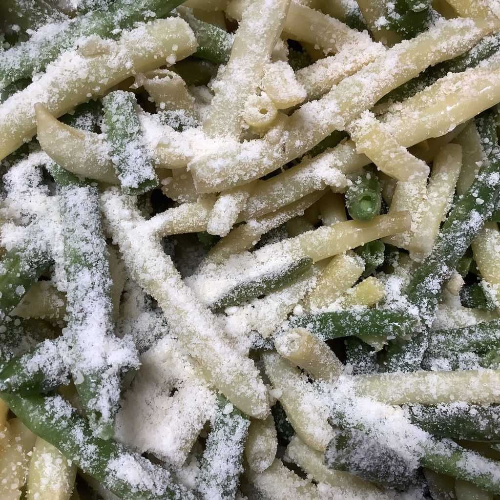 Top with grated Parmesan cheese
